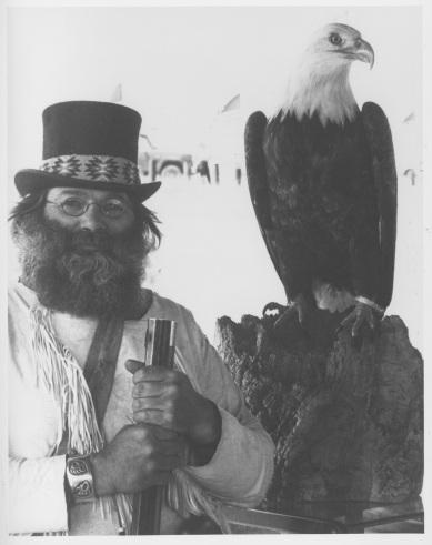 Turkey and eagle BLM