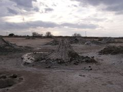 Salton Sea mud volcanoes WIKI