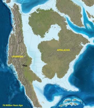 Thank you Ron Blakey; NAU Geology';  University of Utah;  Natural History Museum of Utah